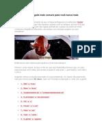 102 Erros de Português Mais Comuns Para Você Nunca Mais Cometer