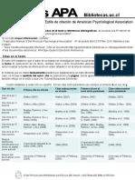 Guia de Uso de APA (Bibliografía)