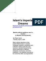 Islam's Imperial Dreams