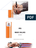 Irs e Mais Valias