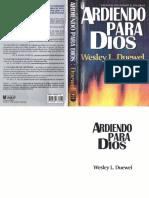 Werley Duewel Ardiendo Para Dios