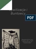 Buntowcy - prezentacja - Nowoczesna Polska