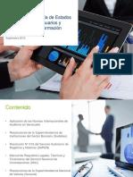Informes de Auditoria de Estados Financieros Para Usuarios y Reguladores de Informacion Financiera