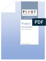 Project Inclusion Ethics Framework