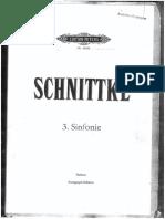 Alfred Schnittke - Symphony no. 3