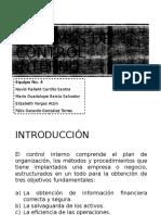 Sistemas de Control Interno - Equipo 4