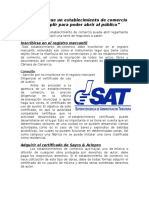 Sat Requisitos