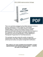 Assured 22000 FSMS Certification Package Brochure 2015
