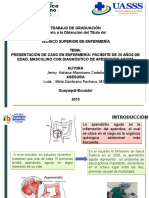 Caso Clinico Apendisitis Aguda