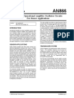 Designing Operational Amplifier Oscillator Circuits for Sensor Applications