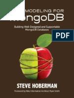 Data Modeling for MongoDB_ Bui - Steve Hoberman_2016