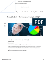Trade Life Cycle - The Process of Buying & Selling