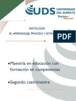 Antologia Aprendizaje 2da. Semana