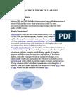 Neuroscience Theory of Learning
