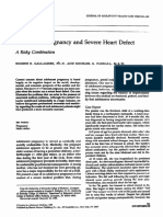 Adolescent Pregnancy and Severe Heart Defect a Risky Combination 1988 Journal of Adolescent Health Care