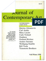 Gerhard Richter Journal Contemporary Art V3.2 1990 Philip Pocock