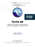 Matlab Lecture Notes