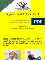 Sujeto de La Educación I -Trabajo Final