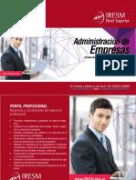 Iresm  / Administración de Empresas  - plan 2017