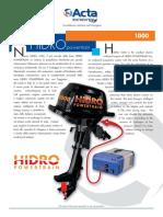 Fuoribordo Hidro Powertrain 1000