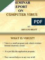 Seminar on Computer Virus | Computer Virus | Malware