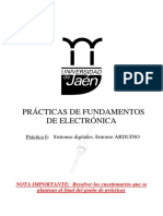 Practiva IX - FFEE - Arduino