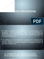 Enfoque psicosocial