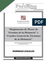 Reglamento de los Plazos de termino de la distancia del Poder Judicial.pdf