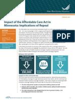 Impact of the ACA on Minnesota