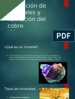 Extracción de Minerales y Refinación Del Cobre 1