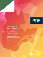 La carte électorale, à l'image du Québec