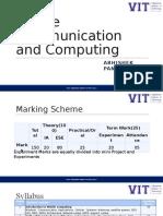 Mobile Communication and Computing