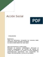 Unidad 2 2.1 Acción Social