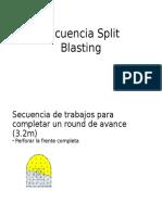 Secuencia Split Blasting