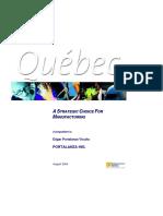 Investisement Quebec - Portalanza Metal In. - Edgar Portalanza