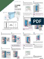Regius 110 Erase Lamp (Halogen Lamp) Replacement Procedure