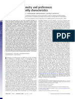 Fluctuating asymmetry and preferences for sex-typical bodily characteristics