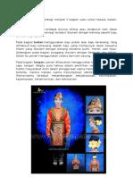 Kostum Tari Saman Terbagi Menjadi 3 Bagian Yaitu Untuk Kepala