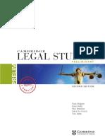 Cambridge Legal Studies Prelim 2E