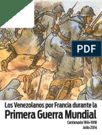 Los Venezolanos Por Francia Durante La Primera Guerra Mundial