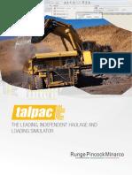 Talpac Electronic Brochure