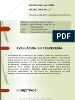 Diapositivas de Evaluacion de La Cerveza