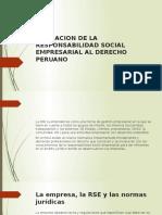 Aplicacion de La Responsabilidad Social Empresarial Al Derecho