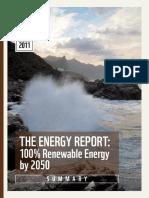 Energy Report Summary 1