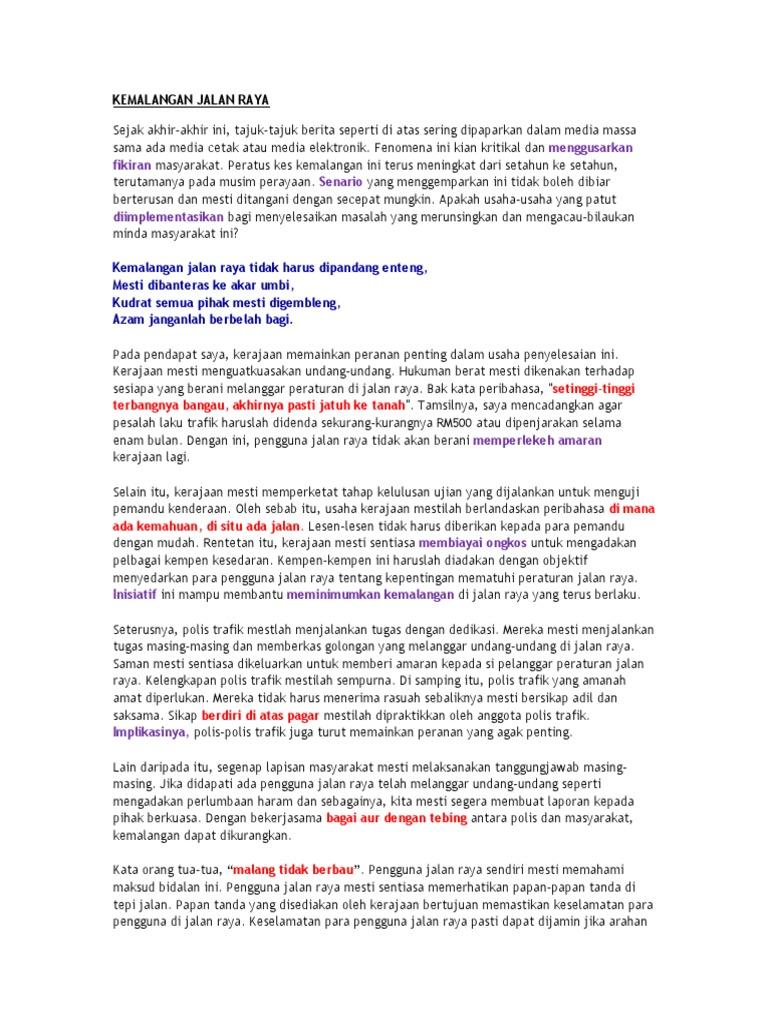 Contoh Karangan Surat Kiriman Rasmi Spm 350 Patah