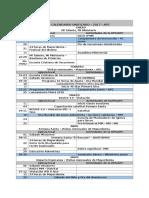 Calendario APC 2017