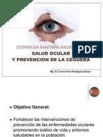 Estrategia Sanitaria Nacional de Salud Ocular
