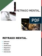 Clase Retraso Mental y Demencia