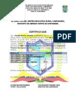 Certificado Grado