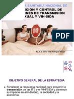 Estrategia Sanitaria Nacional de Prevencion de las ITSs y VIH-SIDA